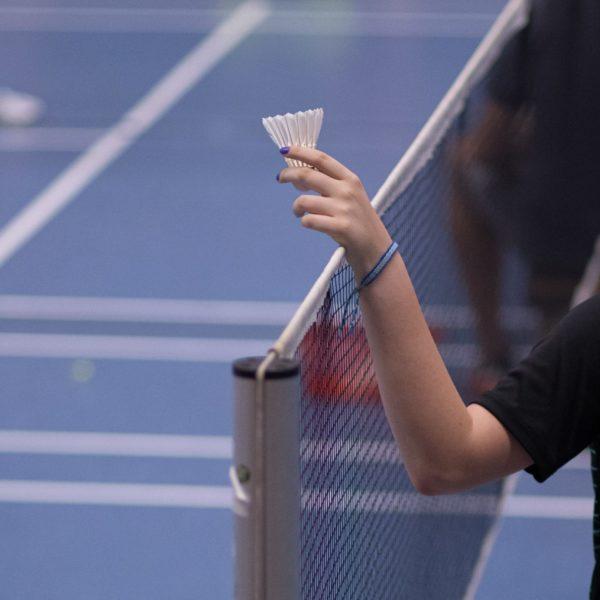Hintergrund Badminton
